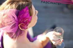 My friend Laura J rocks the fascinators all the time, but the ones I find are not quite right for me. I found an idea for one that looks simple and easy to personalize! Craft store here I come! http://apracticalwedding.com/2012/03/how-to-make-a-sparkly-floral-fascinator/