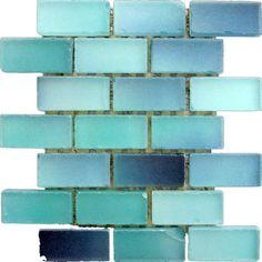 Sea glass tile by Hercio Dias
