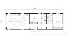 Narrow lot house plans zero lot line home plans house for Floor plans zero lot line