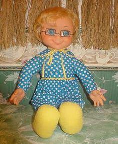 Mrs. Beasley!  My first doll.