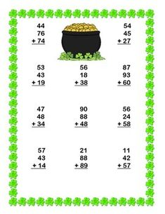 Printables 2st Grade Math Worksheets multiplication worksheets math and on pinterest