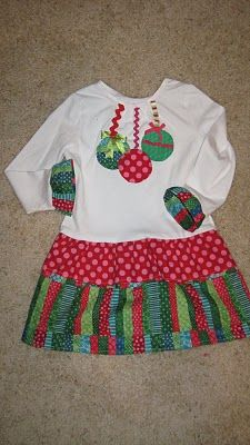 Cute Dresses for the Girls, I did make some, two for the girls. Different but similar. Will pst pictures later.