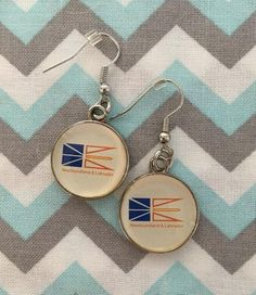 Silver Bezel Photo Glass NEWFOUNDLAND and LABRADOR Earrings | Etsy Unisex Gifts, Newfoundland And Labrador, Fish Hook Earrings, Etsy Earrings, Happy Shopping, Jewerly, Charmed, Personalized Items, Glass