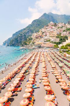 Positano Coast Vertical, by Gray Malin. Warm up your walls with shades of orange complementing the pastel palette of the seaside village and bri. Oh The Places You'll Go, Places To Travel, Places To Visit, Beach Aesthetic, Travel Aesthetic, Marmaris, Siena Toscana, Positano Beach, Positano Italy