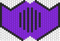 Ninja Mask Bead Pattern | Peyote Bead Patterns | Misc Bead Patterns