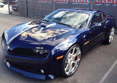 2013 Trans AM | 2014 Trans Am Rare Aqua Blue Metallic Z/TA Trans Am sporting... WHAT?!?!?! Wow!!!!