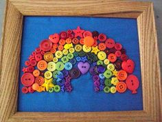 Have the kids bring all kinds of buttons (you can get them from the thrift store or your mom's sewing basket etc) and create art with them. :)