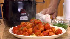Meatballs in the Perfect Cooker