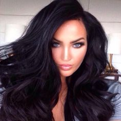 Dark hair (I miss my dark hair now but I spent money and time going blonde:( )
