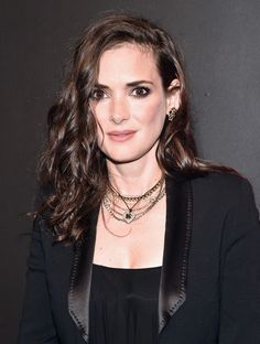 """Winona Ryder Photos Photos - Actress Winona Ryder attends the Premiere of Netflix's """"Stranger Things"""" at Mack Sennett Studios on July 2016 in Los Angeles, California. - Premiere Of Netflix's 'Stranger Things' - Arrivals Winona Ryder, Olivia Munn, Matthew Modine, Winona Forever, New Netflix, Long Curls, Iconic Women, Celebs, Celebrities"""