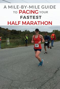 Aiming for a half marathon PR? Don't crash and burn on race day! Learn how to pace your fastest half marathon with these mile by mile guidelines.
