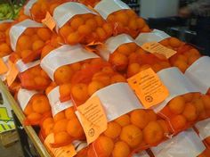 Our green grocer, produce man with a plan, Dave just got some delicious local Organic Satsuma Mandarins in... $15.99 for 10 lbs! Come in and pick some up!
