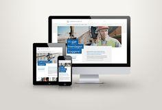 Webdesign for Sikkerhetsleelse AS #webdesign #responsive #web