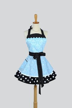 Hey, I found this really awesome Etsy listing at http://www.etsy.com/listing/166789745/ruffled-retro-apron-sexy-apron-tiffany