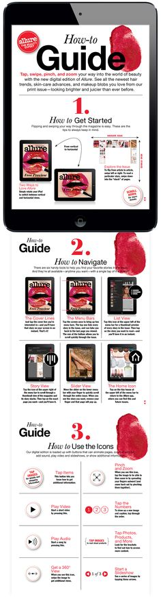 Navigation (How-to Guide). Allure Magazine for iPad More on www.magpla.net
