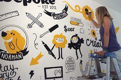 Mural Wepoke San Francisco on Behance