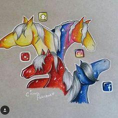 Social Media Horse