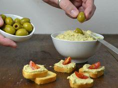 Blog de recetas fáciles paso a paso con vídeo. Tapenade, Salad Bar, Canapes, Antipasto, What To Cook, Catering, Food And Drink, Appetizers, Tasty
