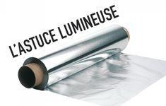 UN INTÉRIEUR SUPER-LUMINEUX À MOINDRE FRAIS GRÂCE AU PAPIER D'ALUMINIUM
