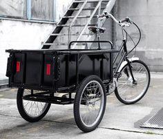 Sanitov Cargo Bike: de bicicleta de carga china al velocípedo de diseño integral. - diariodesign.com