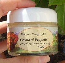 Crema viso al propolis per pelle grassa e impura - Fitocose -
