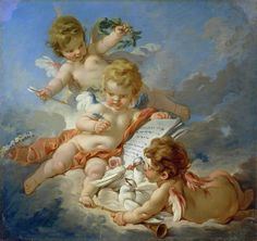The Athenaeum - Allegory of Poetry (François Boucher - )
