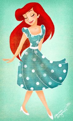 If i could choose to be one disney princess for the day, without a doubt, id choose Ariel♥ Walt Disney, Disney Magic, Ariel Disney, Disney Dream, Disney Style, Disney Love, Disney And Dreamworks, Disney Pixar, Disney Characters