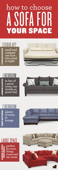 The sofa or sectional is the crown jewel of your space. Choose wisely to create the perfect home!