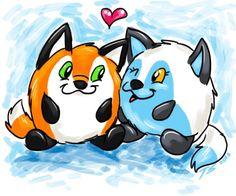 Taylor S. drew some Squishable foxes!!! #plush #fashion