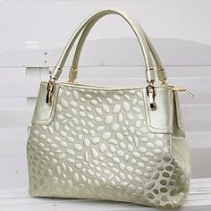 Fashion Casual Tote With Stone Pattern – USD $ 31.99