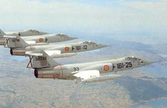 Starfighters from the Spanish Air Force Military Jets, Military Aircraft, Fighter Aircraft, Fighter Jets, Spanish Air Force, Reactor, Aircraft Design, Army & Navy, Military History