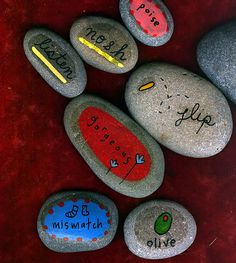 Love this. I use to paint stones and sell them when I was a kid. Instead of lemonade stands I had hand painted rock stands.