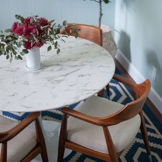 LexMod   Lippa Artificial Marble Dining Table   Also Available With A Real  Marble Top. Might Tie The Gray And White Kitchen Together