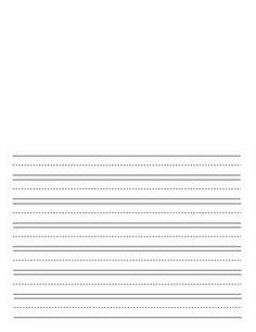 Custom handwriting paper usage