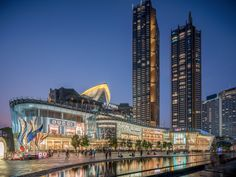 ICONSIAM, Bangkok, Thailand | Projects | Benoy Futuristic Architecture, Concept Architecture, Architecture Design, Commercial Complex, Commercial Street, Cladding Design, Mall Facade, Presentation Board Design, Future Buildings