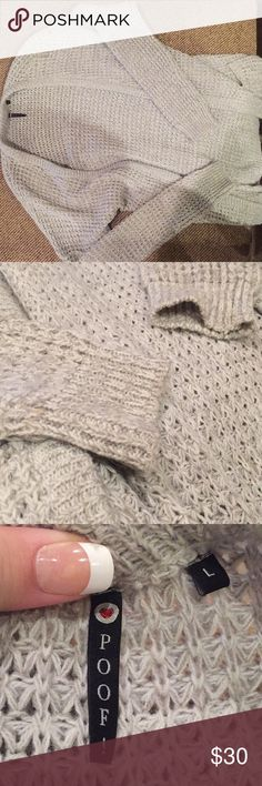 Grey Wool Cardigan Purchased from TJ Maxx Grey Wool or Wool-Like cardigan so pretty and a good thickness to keep warm. Long and pretty get it before it's gone. Poof! Sweaters Cardigans
