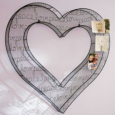 Heart 3D Wire Icon #pbteen