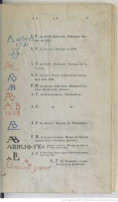Vincennes s vres data letters toutes les pi ces de la for Portent 4 letters