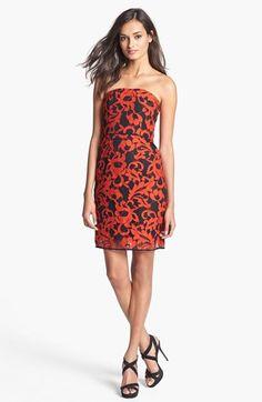 Diane von Furstenberg 'Walker' Lace Tube Dress