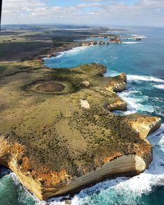 Took a helicopter ride with @12apostleshelicopters along the #GreatOceanRoad today. Awesome! Great way to see the #twelveapostles from a unique perspective.  #visitmelbourne #australiagram #australia #victoria #mytravelgram #travel #seeaustralia #landscape #beautiful #coast #surf #beach #coastline #traveljunkie #youmustsee #photowall #ozshotmagazine #melbourne #melbournelife #melbournetodo #camping #campinglife #greatoutdoors #roadtrip #helicopterride #helicopter #chopper #justdoit by…