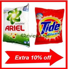 Pepperfry recently added Detergent Powder in their site. we can get Detergent powder at upto 10% off. Though there are many Detergent powder out of stock but still many are in stock. So take quick action before all goes out of stock.