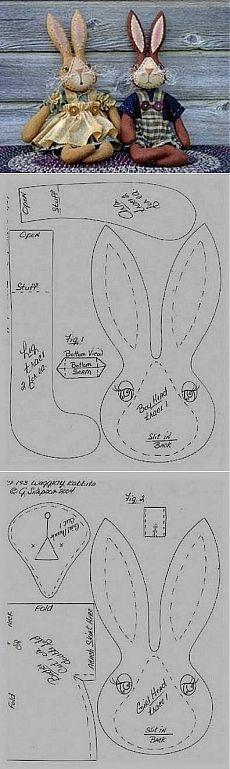 Ceci EuQfiz: un par encantador de conejos con molde