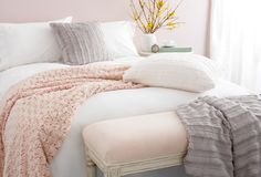 Loving the soft colors and textures #onekingslane#