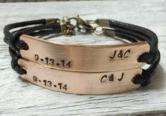 Bronze infinity bracelet friendship bracelet wholesale--Quality Black Wax cord Leather--Best Gift Jewelry for friendship | Personalized Bracelets | Custom Necklace | Wholesale craft supplies - Turntopretty
