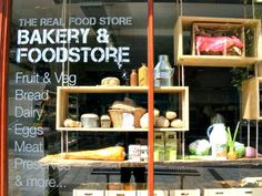Exeter Real Food store - Stocks local Devon produce plus cafe and bakery
