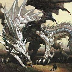 Monster Concept Art, Fantasy Monster, Monster Art, Creature Concept Art, Creature Design, Fantasy Character Design, Character Art, Tiamat Dragon, Beast Creature