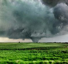 April 14, 2012 tornado outside Crawford, Kansas via Manuel Fores on Twitter