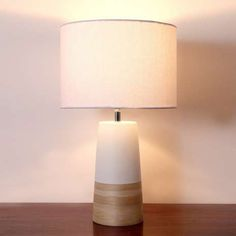 Hove Bamboo Table Lamp | Dunelm