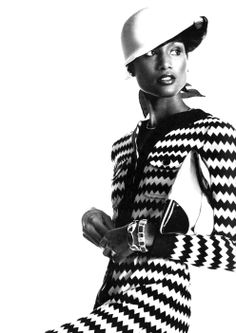 Beverly Johnson for Vogue usa, shot by Irving Penn, January 1973. The first coloured top model, way before Iman, Veronica Webb, Naomi, Lya Kebede, Joan Smalls etcetera. On Vogue August 1974 Johnson was the first African American model to appear on the magazine's cover.