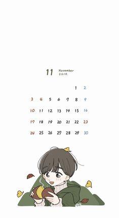 Funny Yugioh Cards, Something Just Like This, Cute Calendar, Calendar Wallpaper, Phone Themes, Ios Wallpapers, Kawaii Wallpaper, Pretty Art, Cartoon Art